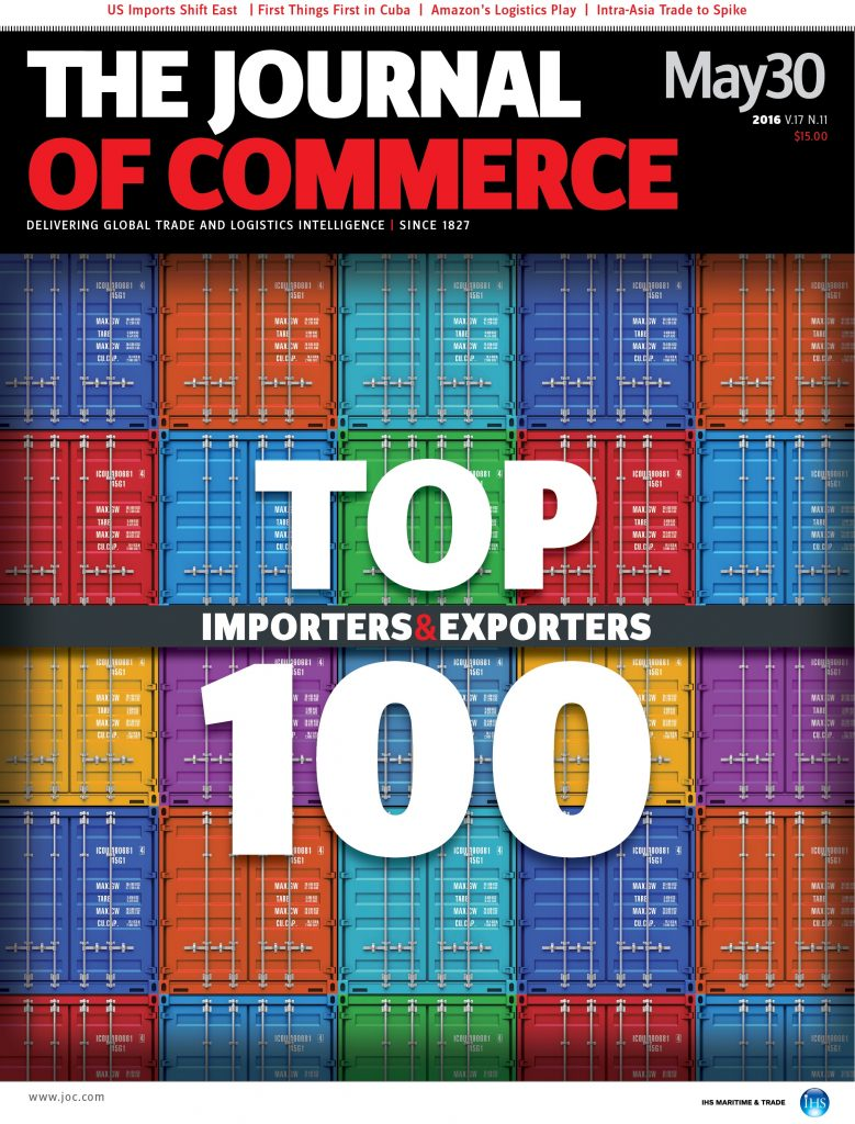 JOC Top 100 Cover