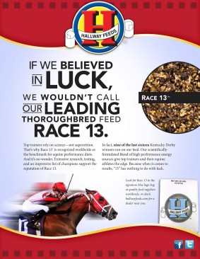 TDN Race 13 ad