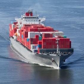 Stock Cargo Ship