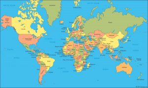 Japan world map google New World Map A clickable map of world countries