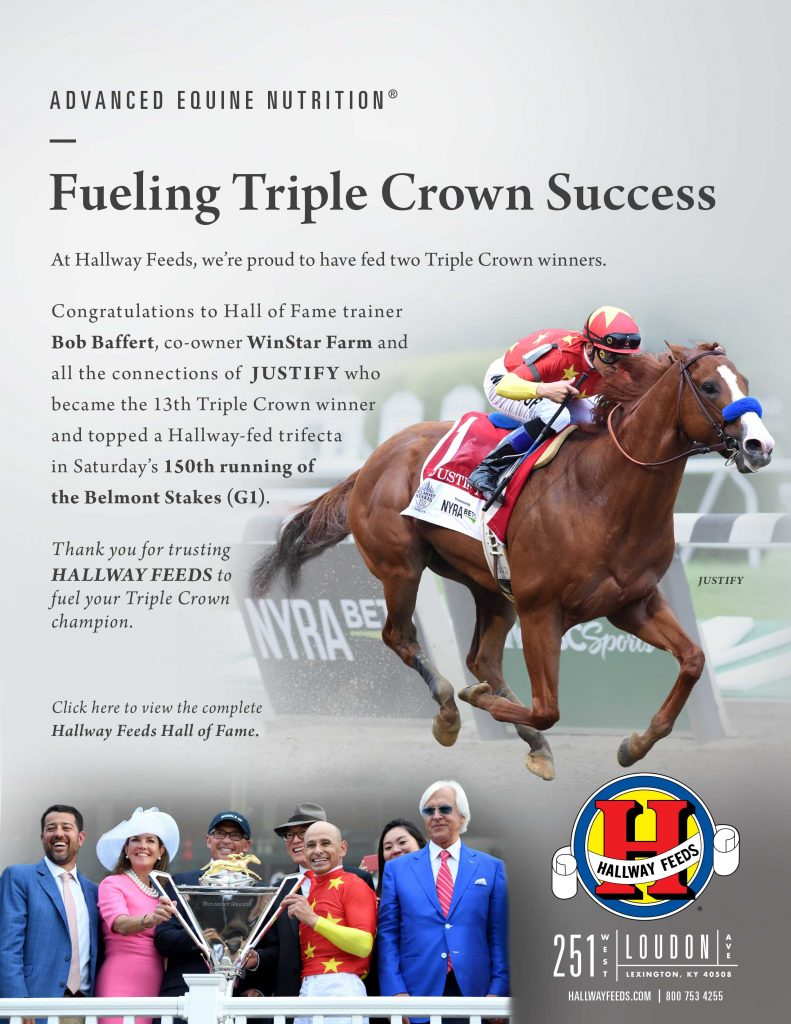 Justify Wins The Triple Crown at Belmont!